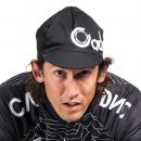 Cadence Blasted Cycling Cap - Schwarz