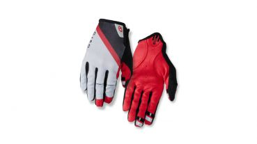 Giro DND Ganzfinger Handschuh - Grey/Dark Red/Black
