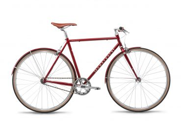 Bombtrack Oxbridge Mod. 2019 Singlespeed Bike - Metallic Maroon