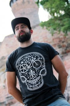"SM-Parts T-Shirt ""Skull"" Heather Grey"