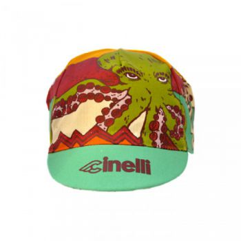 "Cinelli Rider Collection Cycling Cap ""Tropicalpus"""