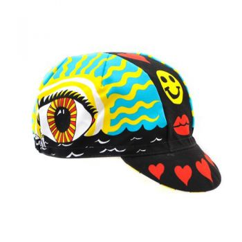 Cinelli Eye of the Storm Cycling Cap - by Ana Benaroya