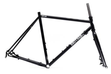 Brother Cycles Kepler DISC Rahmen-Set - Stealth