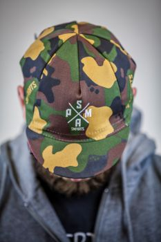 "SM-Parts ""Camo"" Cycling Cap ""Rubber Side Down"""