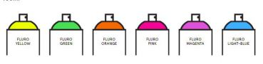 Spray.Bike Fluorescent Collection - 400ml