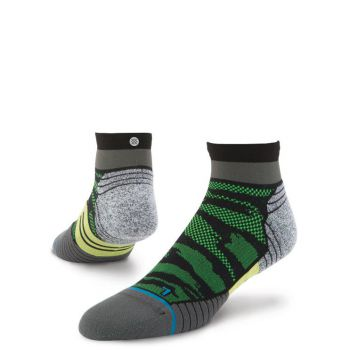 Stance Socks Fusion Run Bandit Quarter Funktionssocken
