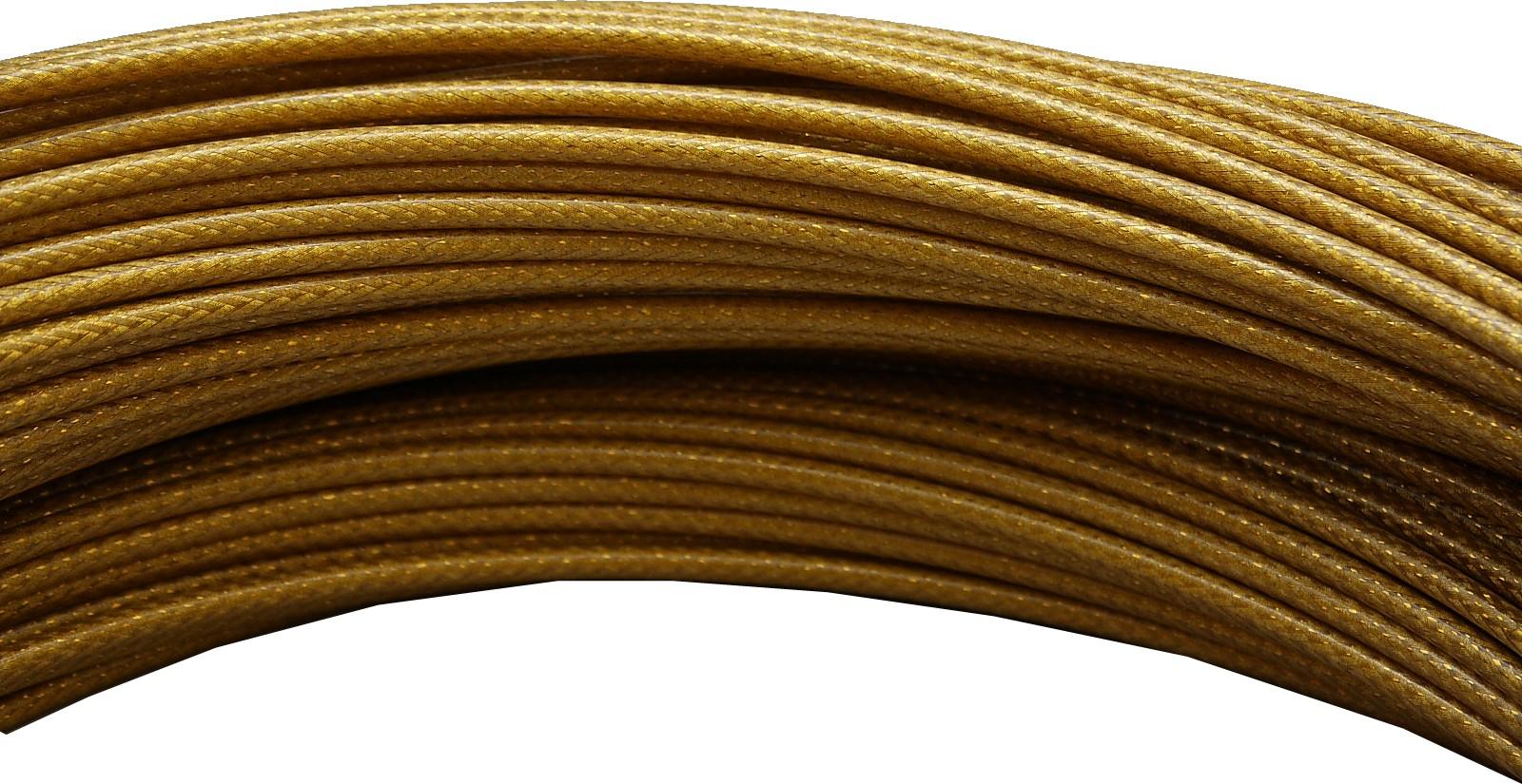 1 m Bowdenzughülle in gelb Schaltungszüge von Jagwire