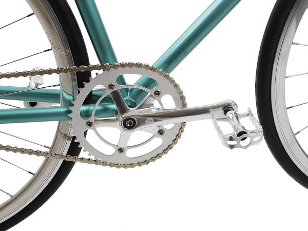 BLB - City Classic Komplettrad Fixie Singlespeed - Derby Green