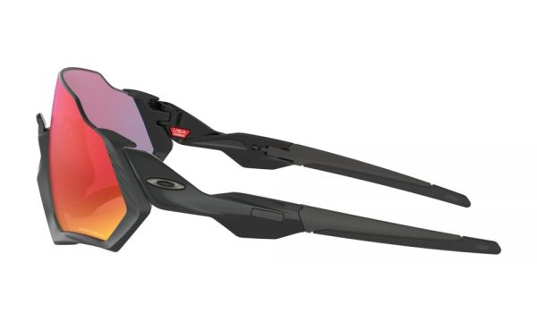 Oakley Flight Jacket PRIZM - Polished Black / Matte Black - Prizm Road OO9401-0137