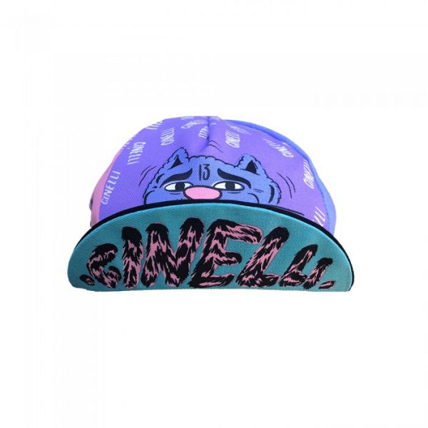 "Cinelli Stevie Gee ""Alley Cat"" Cycling Cap"