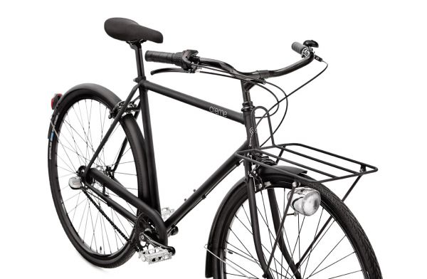 Creme Cycles Caferacer Men - Solo // 7-Gang - All Black