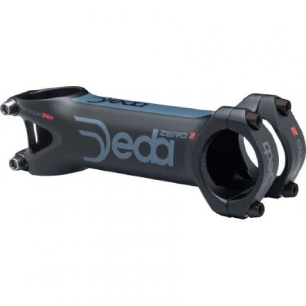 Deda Zero 2 Vorbau 31,7mm - Black on Black - 2017 +/- 7°