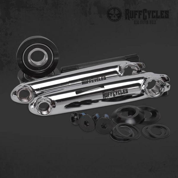 Ruff-Cycles 3-tlg  Kurbelgarnitur 140mm - Industrielager // Fixie