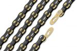 Wippermann Connex 10SB Black Edition 10-fach Kette Schwarz-Gold